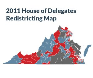 2011 House of Delegates Redistricting Map