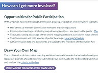 Redistricting - How to Participate