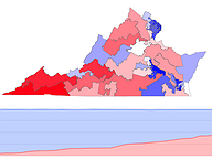 2017 Governor's Election Results by Senate District