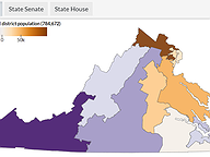 Gainers, Losers in Redistricting