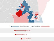 2018 House of Delegates Redistricting: Republican Plan