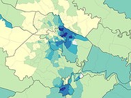 Race by Census Tract