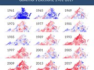 Virginia's Voting History in Governor's Elections: 1961-2017