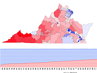 2017 Governor's Election Results by House District