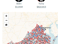 Presidential Donations by Precinct - Through May 2020