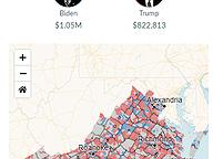 Presidential Donations by Precinct - Through Apr 2020