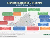 Standout Localities & Precincts: 2018 U.S. Senate Election