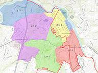 Fredericksburg Split Precincts
