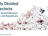 Sharply Divided Precincts