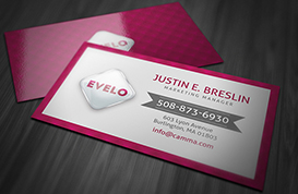 Hot Pink Marketing Business Card PSD Template