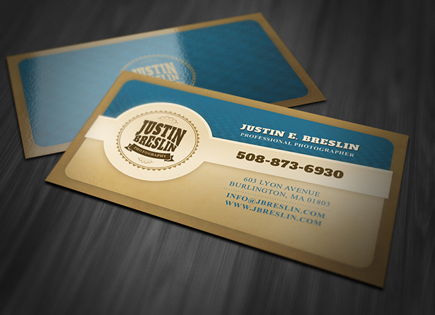 Photography Business Card PSD Template Pack