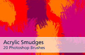 Acrylic Smudge Brushes