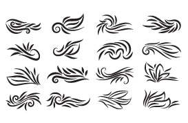 Calligraphic Flourish Vectors