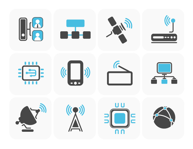 Connectivity Vector Icons Pack