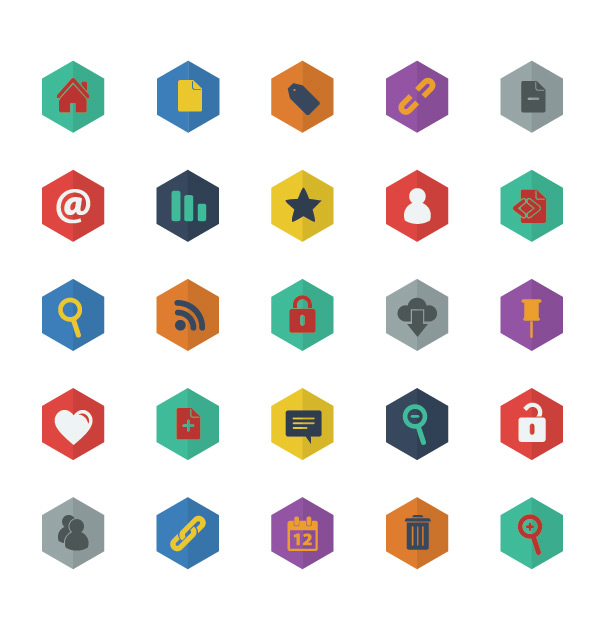 Flat Web Vector Icons