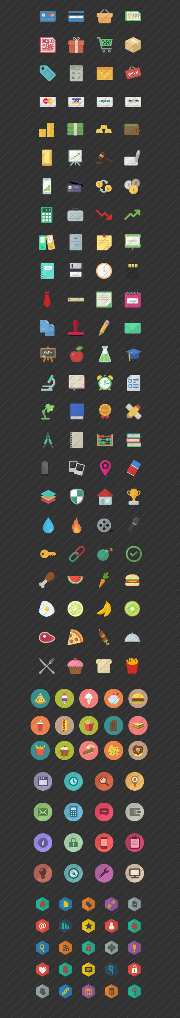 Flat Icon Vector Mega Pack