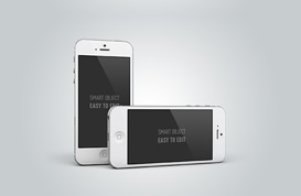 iPhone 5 Mockup PSD Pack