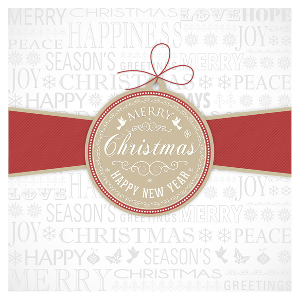 Merry Christmas and Happy New Year PSD