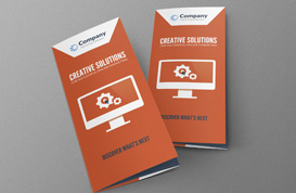 Online Marketing Brochure PSD