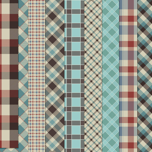 Plaid and Argyle Pattern Pack