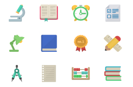School Vector Icon Pack