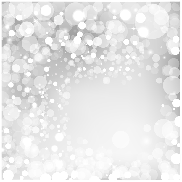 Silver Bokeh PSD Background