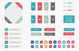 Web Elements PSD Pack