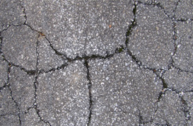Cracked Pavement Textures V