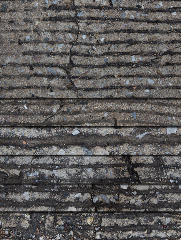 Grungy Grated Pavement Textures Pack II