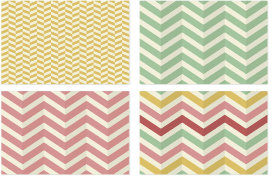 Herringbone Chevron Vector Patterns