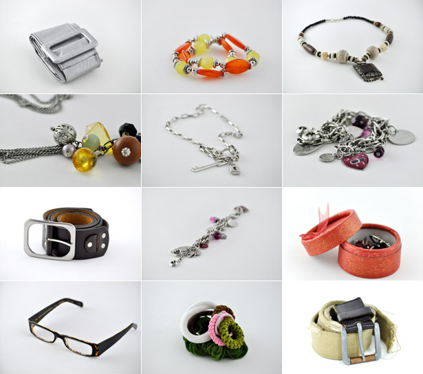 Jewelry and Accessories Stock Photo Set