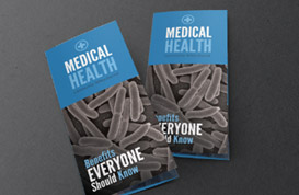 Medical Brochure PSD Template Pack