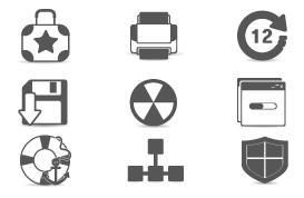 Miscellaneous Web Icon Vectors