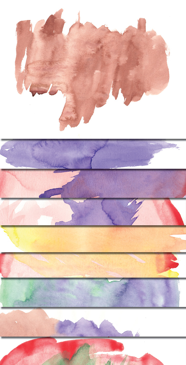 Watercolor Textures Part III