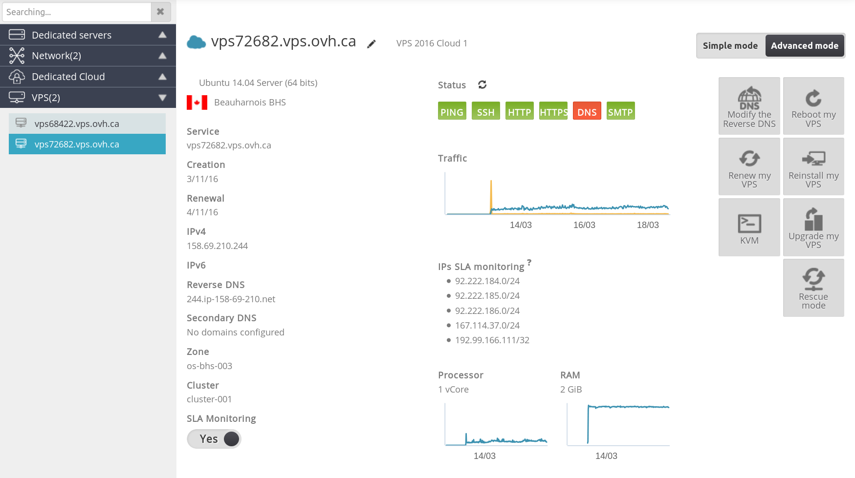 OVH AntiDDoS review — LowEndTalk