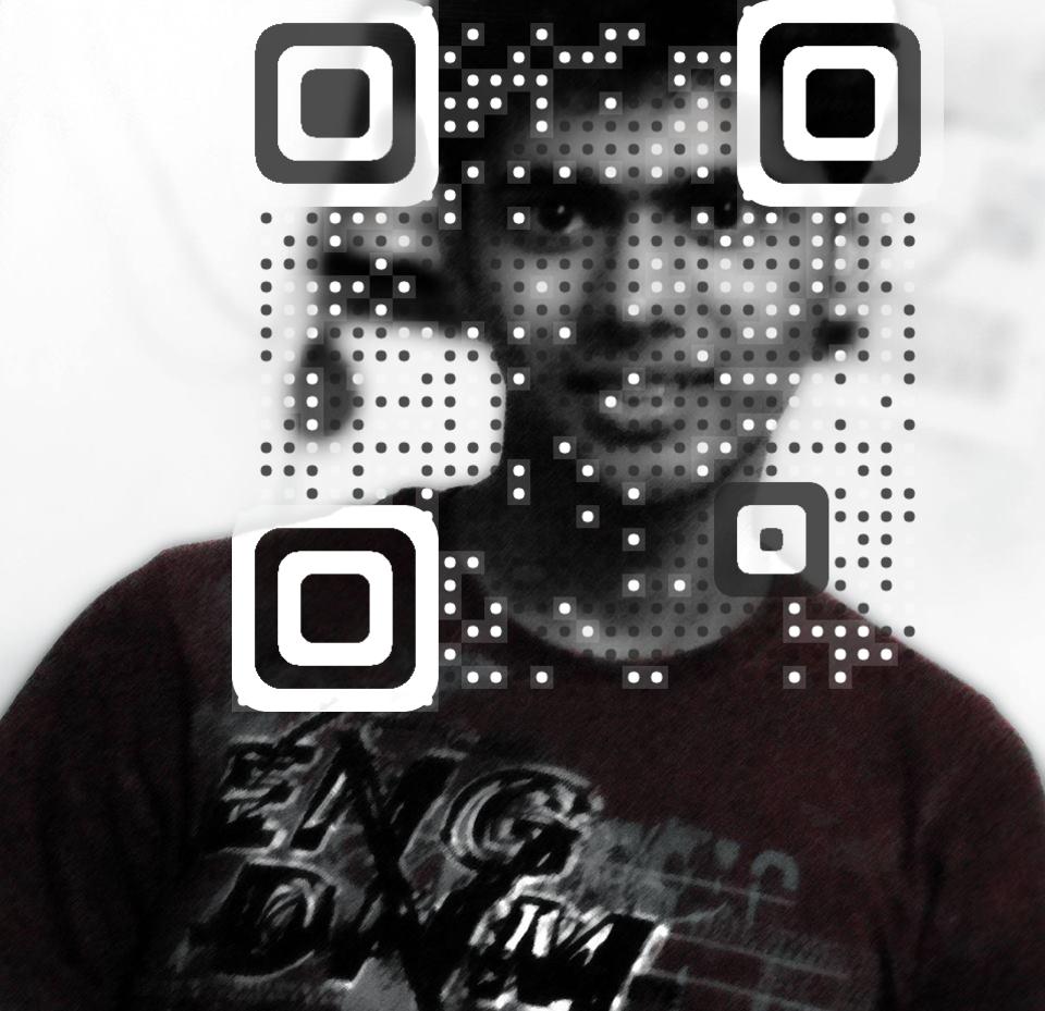 Ritesh Kumar vCard QR Code