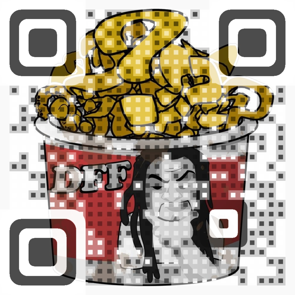 Deep Fried Friday Facebook QR Code