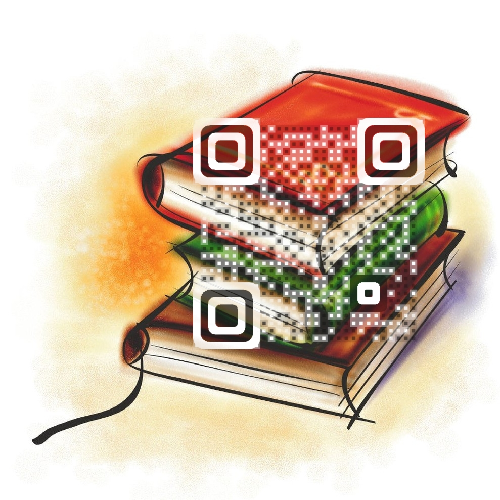 Embedded Librarian QR Code