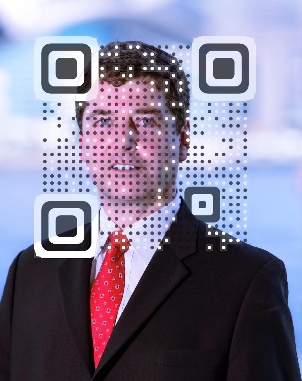 Roland J. Jossi vCard QR Code
