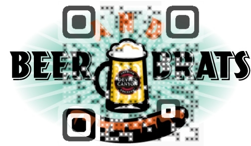 Beers and Brats Event QR Code
