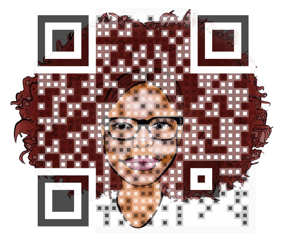 Kurly Hair Empress QR Code
