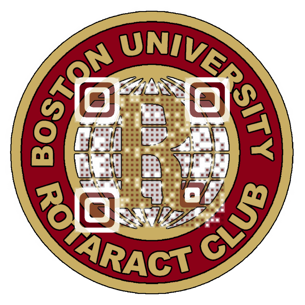 Boston University Rotaract Club QR Code