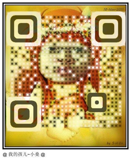 Sandy Lau Facebook QR Code