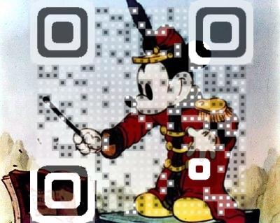 Disney QR Code