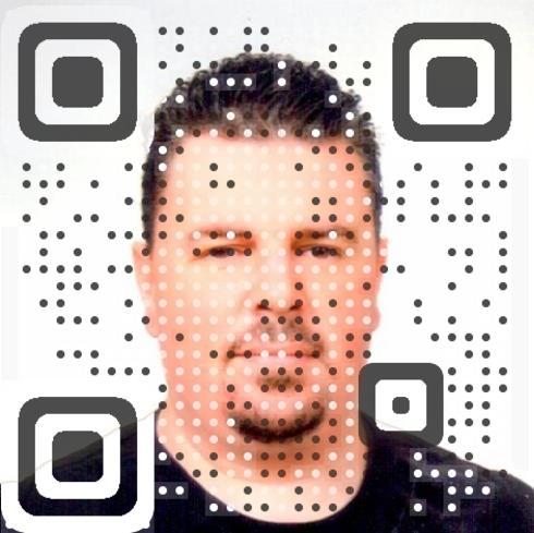 Cem Eraslan vCard QR Code