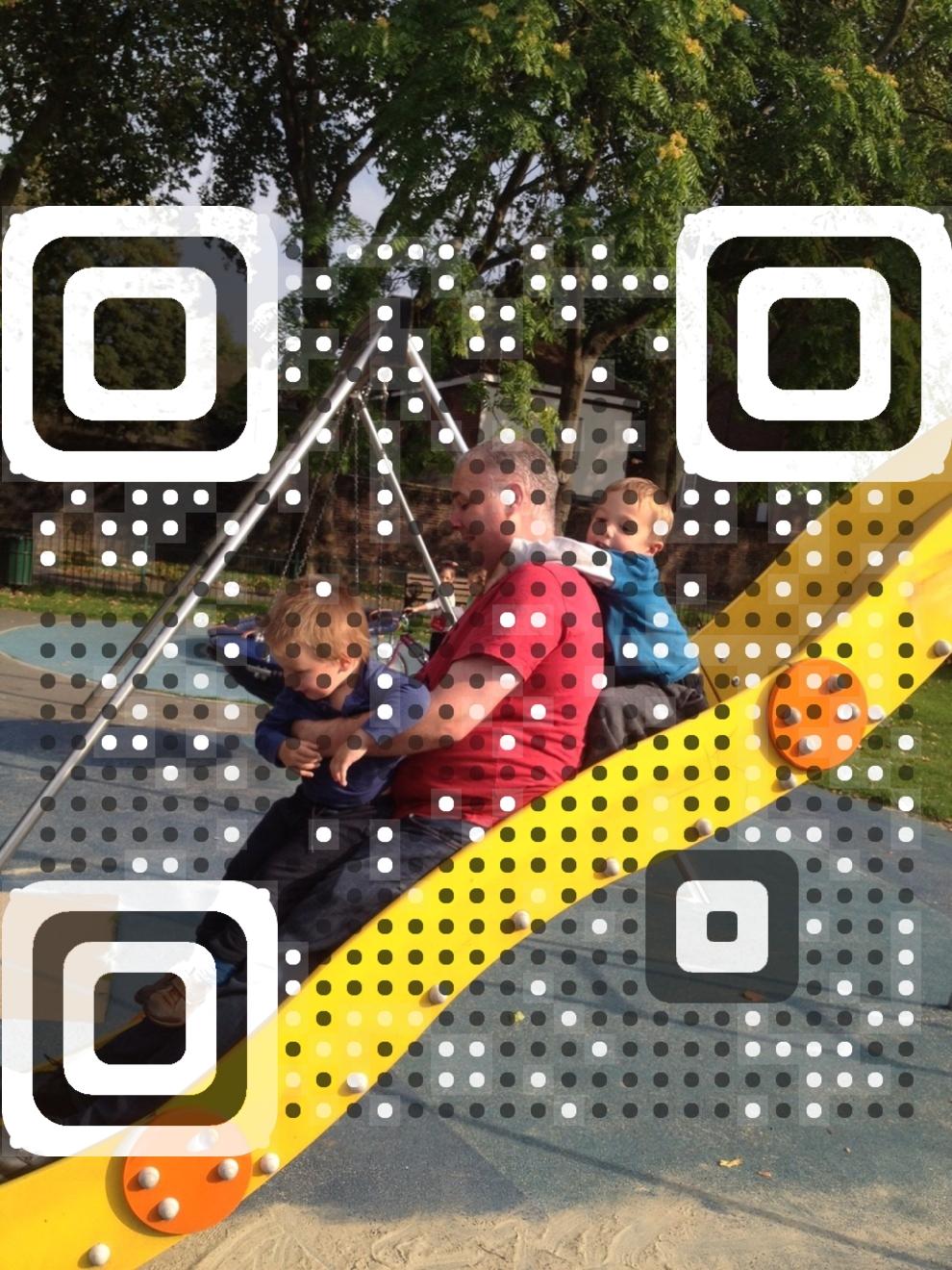 John McIntyre vCard QR Code
