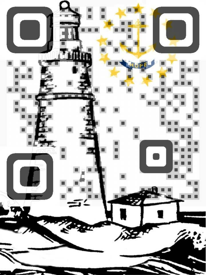 Made from Rhode Island QR Code
