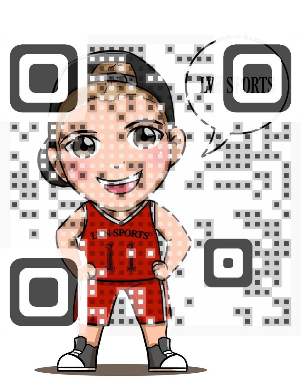 LVN Sports QR Code