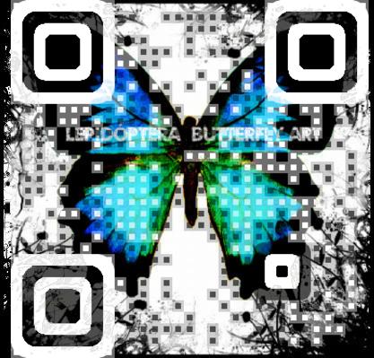 Butterfly QR Code