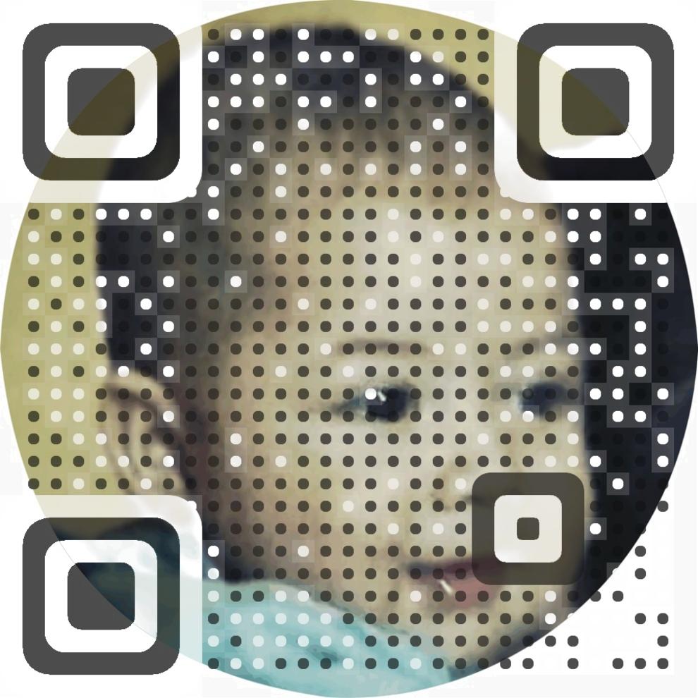 Christopher Christening Leonardo QR Code